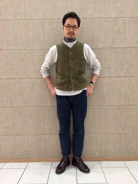 45R 仙台パルコ2店|YOHEYさんの(45R)を使ったコーディネート