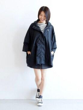 宮崎夢夏さんの「HAYES / ヘイズ(Traditional Weatherwear)」を使ったコーディネート