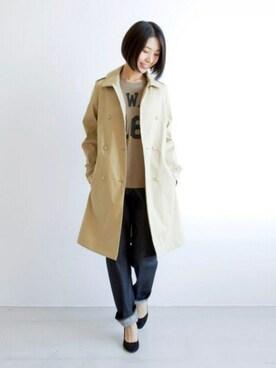 宮崎夢夏さんの(Traditional Weatherwear|トラディショナルウェザーウェア)を使ったコーディネート