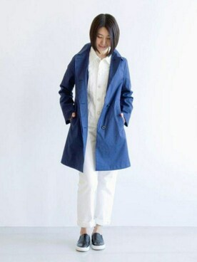 宮崎夢夏さんの「LDS SELBY / セルビー(Traditional Weatherwear)」を使ったコーディネート