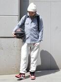 【68&brothers】CHUさんの「68 x TACHIKARA Custome Basketball(68&brothers|シックスティエイトアンドブラザーズ)」を使ったコーディネート