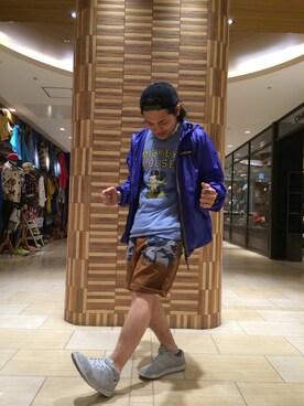 BEAVER名古屋店|伊藤さんの(and wander|ビーバー)を使ったコーディネート