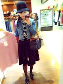 「FOREVER 21 Buffalo Plaid Flannel Shirt(Forever 21)」 using this Anny looks