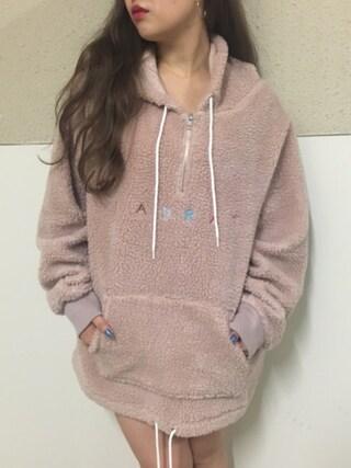 CANNABIS LADIES 新宿 miyabiさんの「LABRAT L-W1633 Fleece H/Z JKT(LABRAT ラブラット)」を使ったコーディネート