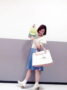 新宿フラッグスbijiness by SAZABY はやかわさんの(SAZABY サザビー)を使ったコーディネート