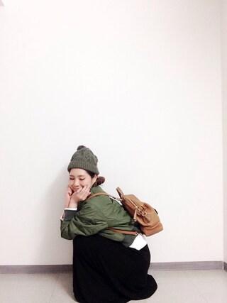 新宿フラッグスbijiness by SAZABY はやかわさんの「LTL-03/リュック(SAZABY サザビー)」を使ったコーディネート