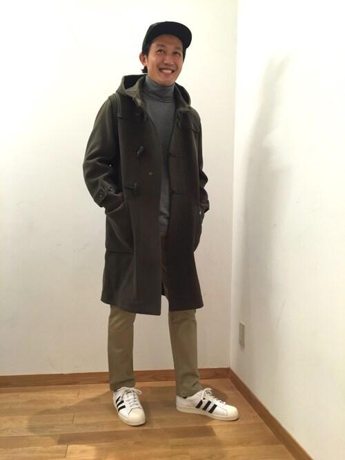 大宮店スタッフさんの「【DESCENTE PAUSE】Merino Wool Turtleneck(DESCENTE)」を使ったコーディネート