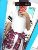 「FOREVER 21 Varsity-Striped T-Shirt Dress(Forever 21)」 using this R  looks