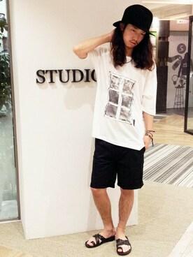STUDIOUS MENS...�b�����삳��̃T���_���uSTUDIOUS �҂ݍ��݃T���_�� MADE IN JAPAN�iSTUDIOUS�b�X�e���f�B�I�X�j�v���g�����R�[�f�B�l�[�g
