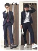 A☆Gさんの「UA タイピン A (UA CLOTHING MATTERS掲載商品)◆(UNITED ARROWS|ユナイテッドアローズ)」を使ったコーディネート