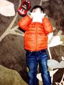 Aaaa.☆さんの「BOYS ライトウォームパデットジャケット+(ユニクロ|ユニクロ)」を使ったコーディネート