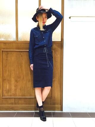 RANDA piole姫路店 yoshika.oさんの「【2016SS新作】バックストラップシューズ/ES5131/S[0229](RANDA ランダ)」を使ったコーディネート