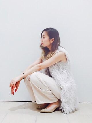 RANDA piole姫路店|yoshika.oさんの「ビジュートゥラインパンプス(RANDA|ランダ)」を使ったコーディネート