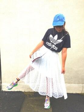 Hinataさんの(adidas|アディダス)を使ったコーディネート