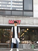 「Levi's Vintage Clothing 1967 Customized 505 Jeans(Levi's)」 using this MANY looks