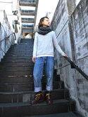 「Dr. Martens 1460 8 Eye Boot(Dr. Martens)」 using this MANY looks