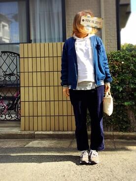 miiiiikoさんの(BLUE BLUE JAPAN|ブルーブルージャパン)を使ったコーディネート