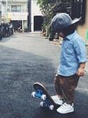 EiGHTTOKYOさんの「【THE PARK SHOP】パークショップ PARK BOY SKATE BOARD(THE PARK SHOP|ザパークショップ)」を使ったコーディネート