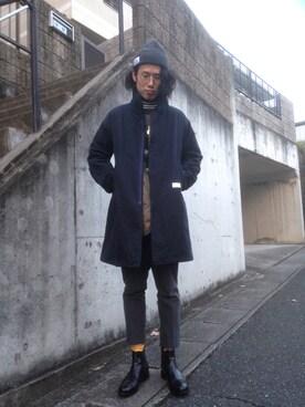 Kazuhiro Sakaguchiさんの(in cloudiness インクラウディネス)を使ったコーディネート