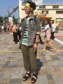 Kazuhiro Sakaguchiさんの(HUMIS|ヒューミス)を使ったコーディネート