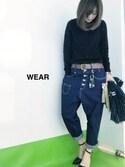 yumikoさんの「フリンジ2WAYクラッチ(N. Natural Beauty Basic|エヌ(エヌ ナチュラルビューティーベーシック))」を使ったコーディネート