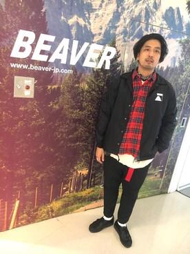 BEAVER渋谷店|Funa☆changさんの(POLeR OUTDOOR STUFF|ポーラーアウトドアスタッフ)を使ったコーディネート