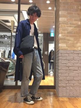 Lui's 天王寺店|r.kobata1204さんの(PHINGERIN|フィンガリン)を使ったコーディネート