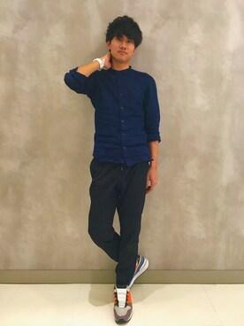 kenji hirasawaさんの(Onitsuka Tiger × ANDREA POMPILIO|オニツカタイガー アンドレアポンピリオ)を使ったコーディネート