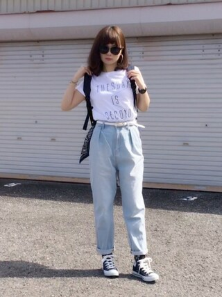 maimaiさんの「CONVERSE / CVS ALL STAR  HI(CONVERSE|コンバース)」を使ったコーディネート