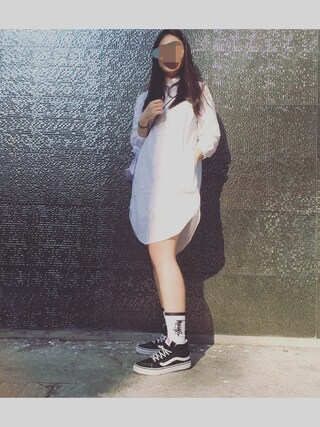 「Vans SK8-Hi Slim Zip Sneaker(Vans)」 using this Eva looks