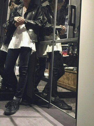 DIESEL 横浜|HIROKI ARAIさんの「00SIYP0IAIV(DIESEL|ディーゼル)」を使ったコーディネート