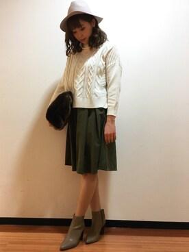 UNRELISH 広島PARCO店|Keikoさんの(UNRELISH|アンレリッシュ)を使ったコーディネート
