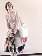 古家亜季さんの「LEVI'S VINTAGE CLOTHING 701 ストレートデニムパンツ/211-LVC-50701-0008(Levi's リーバイス)」を使ったコーディネート