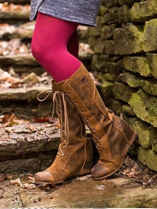 「SOREL 'Cate the Great' Waterproof Wedge Boot (Women)(SOREL)」 using this Polishedpiggy looks