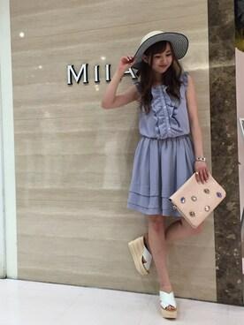 MASAKOさんの(MIIA|ミーア)を使ったコーディネート