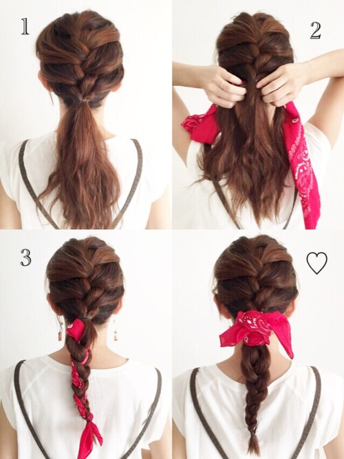 直毛を活かしたかっこいいヘアアレンジ10選 アレンジアイテム