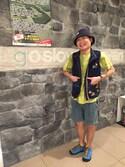 GSC MORIMORIさんの「ROUND HOUSE RH 60/40 NYLON BUCKET HAT(ROUND HOUSE|ラウンドハウス)」を使ったコーディネート