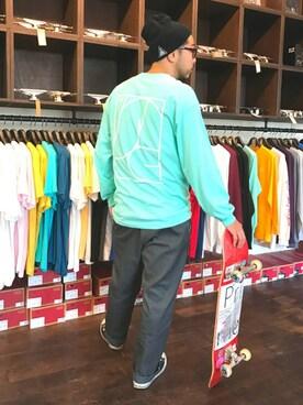 Prime Skateboard Store|SHINTAROLLさんの(CONVERSE|コンバース)を使ったコーディネート