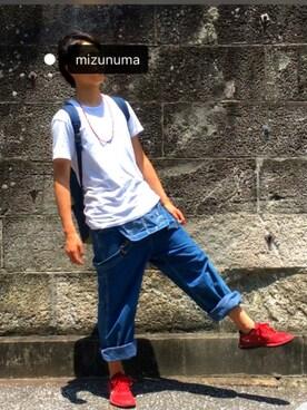 mizunuma    さんの(NIKE|ナイキ)を使ったコーディネート