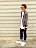 「ACNE STUDIOS Denim pants(Acne Studios)」 using this TogA looks
