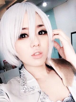 蒼井そら/SOLA AOI/苍井空さんの「白髪ウィッグ」を使ったコーディネート