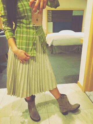 蒼井そら/SOLA AOI/苍井空さんの「CANNALISLADALA - ankle boot(DIESEL|ディーゼル)」を使ったコーディネート