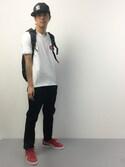 ryuto irieさんの「ADAMPATEK/Justice/OX NYLON BACKPACK(ADAM PATEK|アダムパテック)」を使ったコーディネート