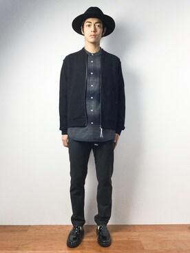 ZOZOTOWN|ryuto irieさんの「2WAYストレッチクライミングパンツ(UNITED TOKYO)」を使ったコーディネート