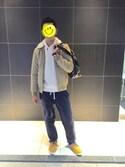 yuさんの「2013 adidas AC HOLDALL アディダス 黒金 バッグ(adidas originals|アディダスオリジナルス)」を使ったコーディネート