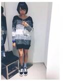 Lau TszWingwingさんの「Old Skool Sneakers(VANS|バンズ)」を使ったコーディネート