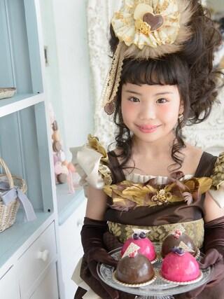 スノーイン大須キモノガールさんの「スイーツドレス」を使ったコーディネート