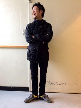 KATHARINE HAMNETT LONDON 渋谷ファイヤー通り|noroさんの(HAMNETT|ハムネット)を使ったコーディネート