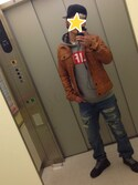 ZONOさんの「LIFE LUNAR PULLOVER HOODIE(TOMMY|トミー)」を使ったコーディネート