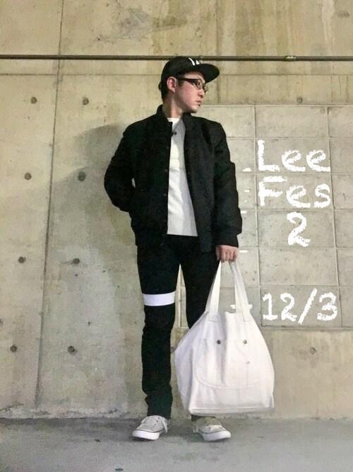 H-D⛄️Lee野郎👖さんの「SHOPPING BAG(Lee)」を使ったコーディネート
